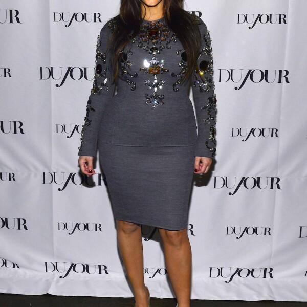 DuJour Magazine Celebrates Spring 2013 Issue With Kim Kardashian And Chef Alexandra Guarnaschelli