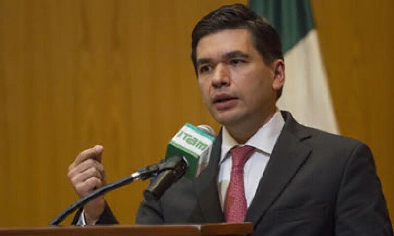 Fernando Aportela aseguró que el objetivo es fortalecer el gobierno corporativo de las instituciones financieras. (Foto: Cuartoscuro)
