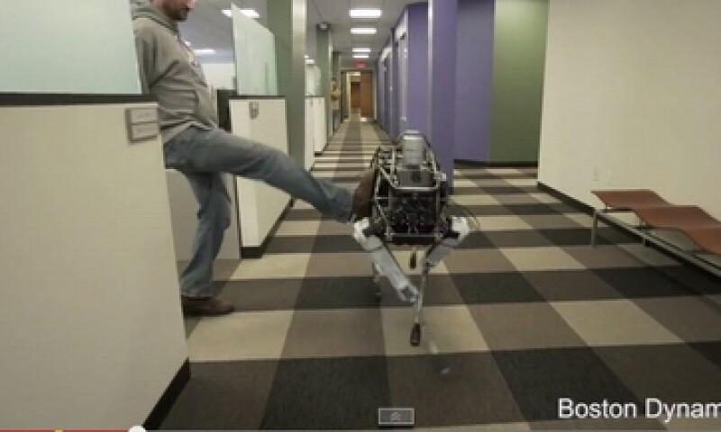 Spot es un robot con capacidad de movimiento amplio (Foto: Cortesía Boston Dynamics)