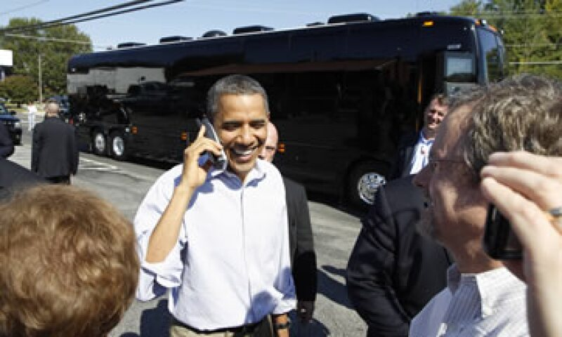 En 2008, cuando Barack Obama buscaba la presidencia de EU, logró el millón de donantes hasta que había sostenido 23 debates. (Foto: Reuters)