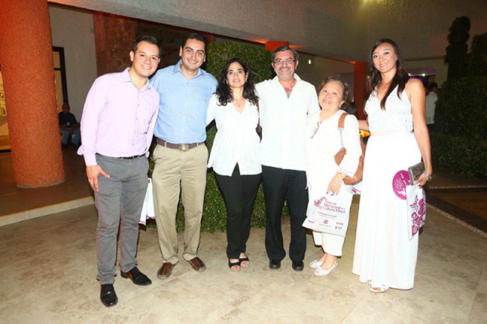 Alejandro Hernández, Harold Sanders, Ofelia Solís Mier y Teran, Javier Francisco Castillo, Jenny Chans Song y María Eugenia Olsem
