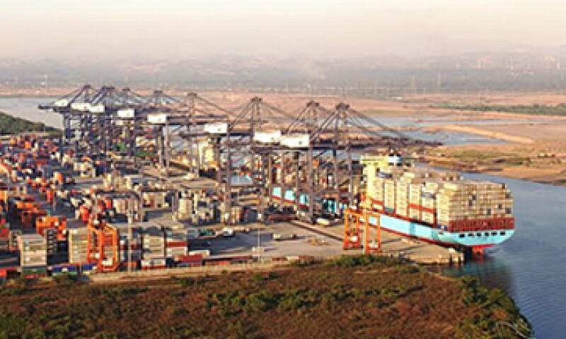 El Gobierno tomó el control del puerto de Lázaro Cárdenas para detener las exportaciones ilegales de hierro. (Foto: Tomada de puertolazarocardenas.com.mx)