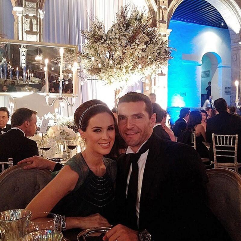 Jacky y Martín celebraron recientemente su tercer aniversario de bodas.