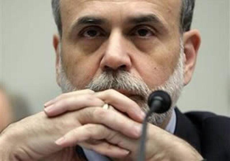 Ben Bernanke, titular de la Reserva Federal de EU, concluye el término frente a la entidad el 31 de enero.  (Foto: AP)
