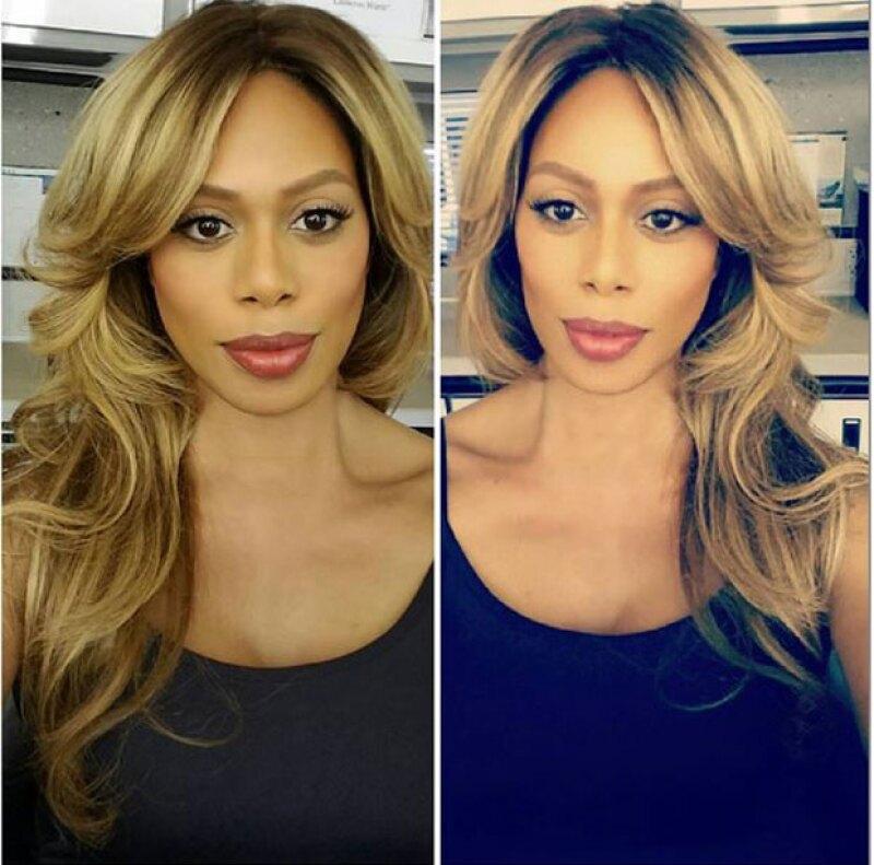 Con esta imagen la actriz desmintió haberse sometido a alguna cirugía.