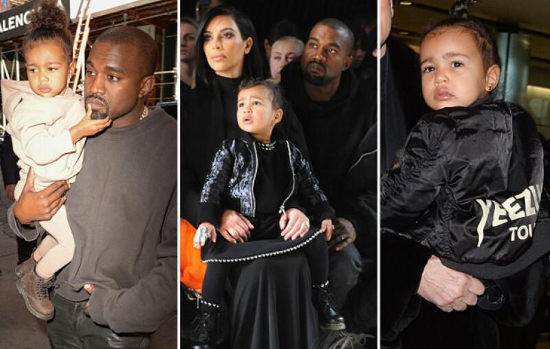 Incluso tiene una bomber jacket de Yeezus, la colección de ropa de Kanye West.