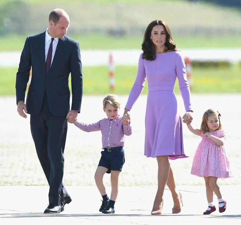 William, Kate, George, Charlotte