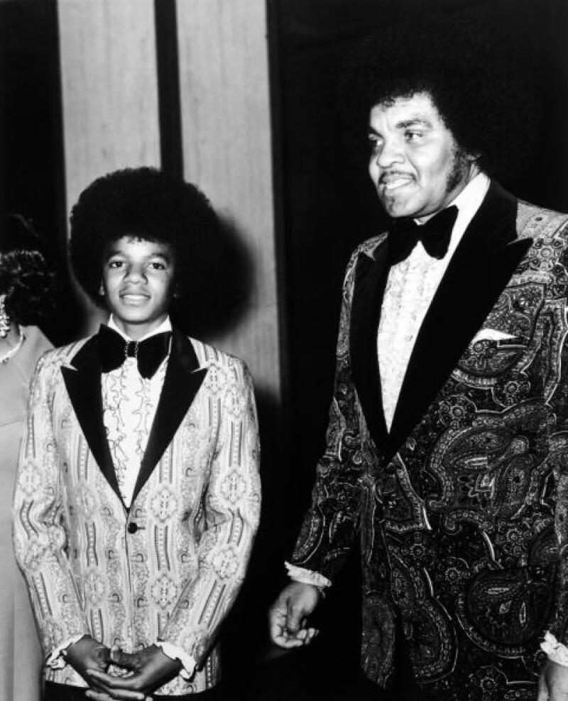 Michael y Joe Jackson