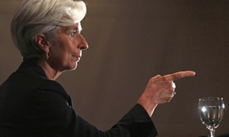 Christine Lagarde es la primera mujer en asumir el cargo principal del FMI. (Foto: AP)