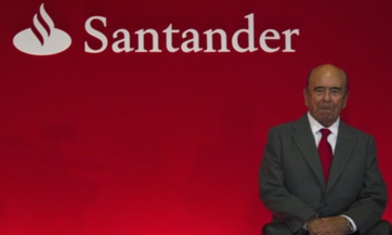 Emilio Botín, CEO de Santander reportó este martes los resultados anuales de la empresa. (Foto: Reuters)