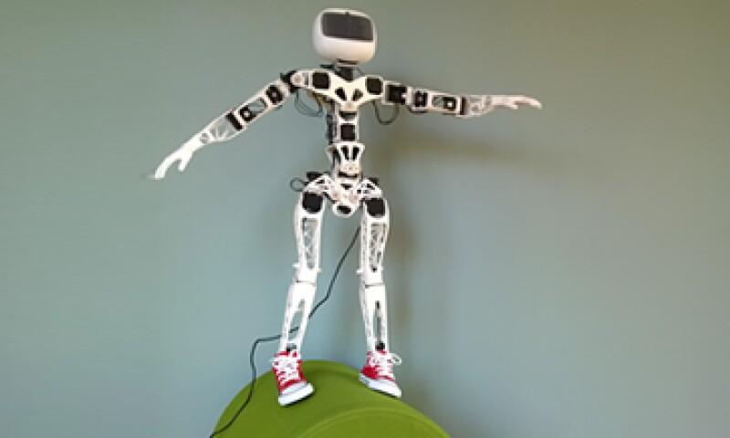 El robot fue creado para investigar más acerca de la impresión 3D y la informática. (Foto: Cortesía de poppy-project.org)