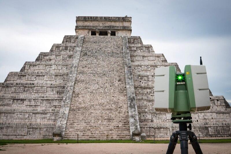 Chichen Itzá - Digitalización