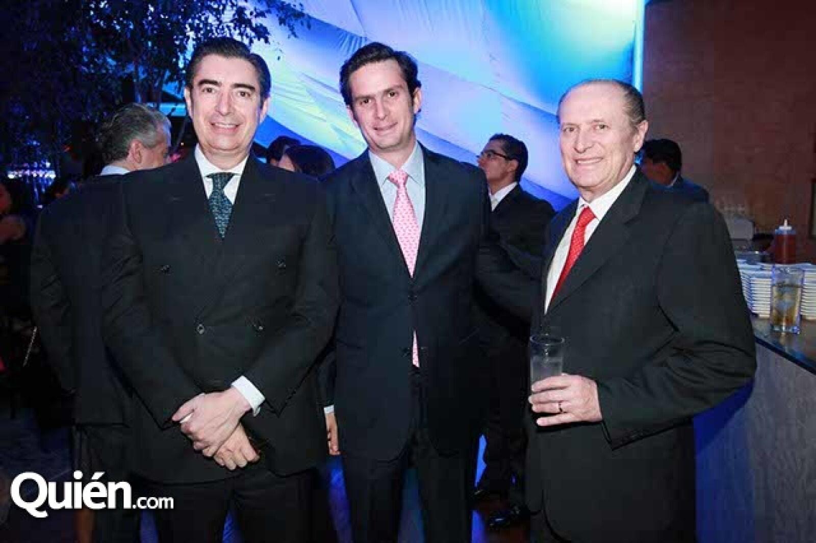 Fernando Tovar y de Teresa,Antonio Osio y Ernesto Moya
