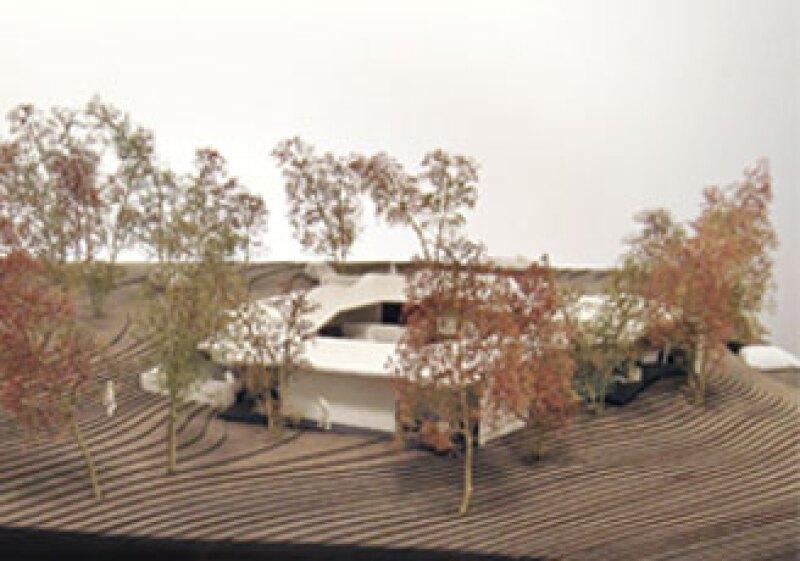 El holandés Rem Koolhaas diseñó un centro de cáncer que contará con 534 metros cuadrados. (Foto: Cortesía OMA)
