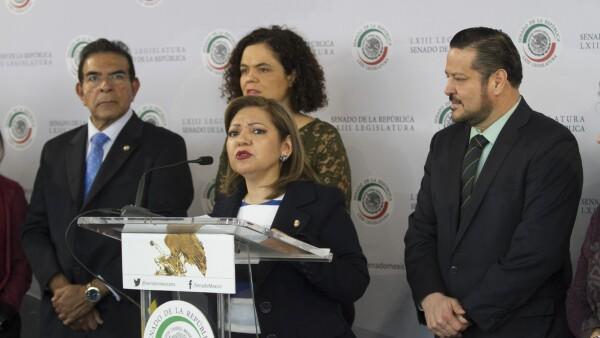 Mariana Gómez del Campo y Rosario Guzmán Avilés