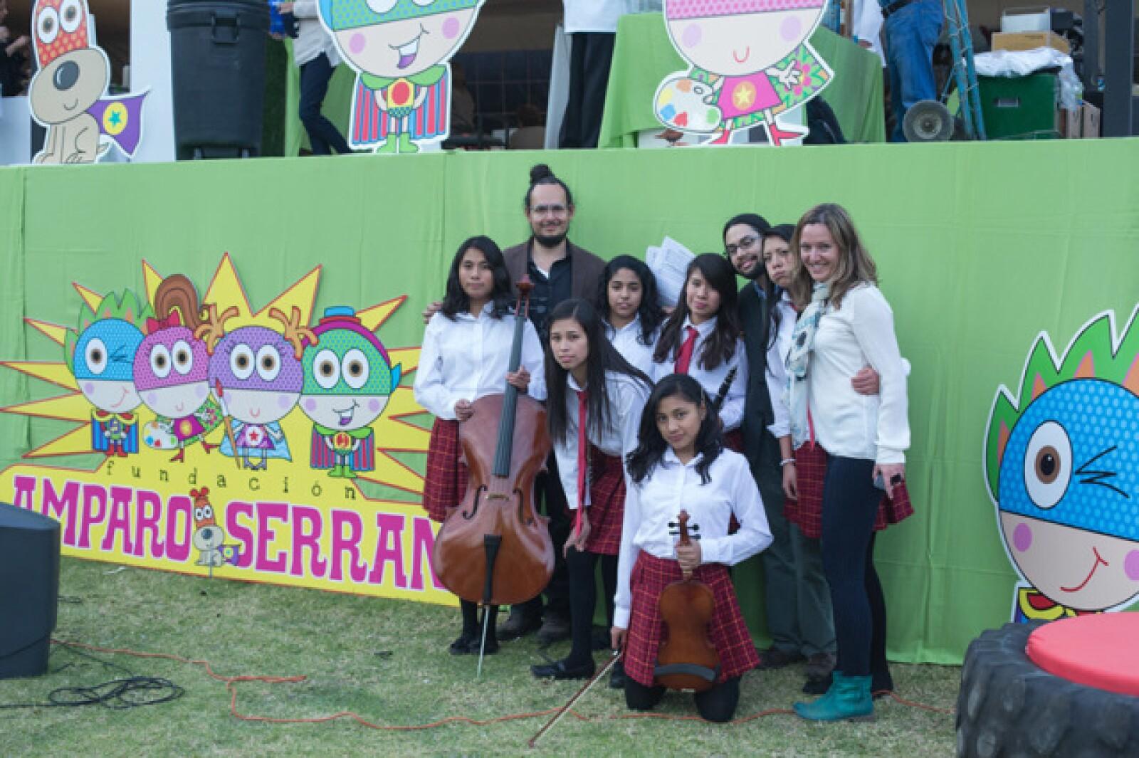 Coro de la fundacion Amparo Serrano