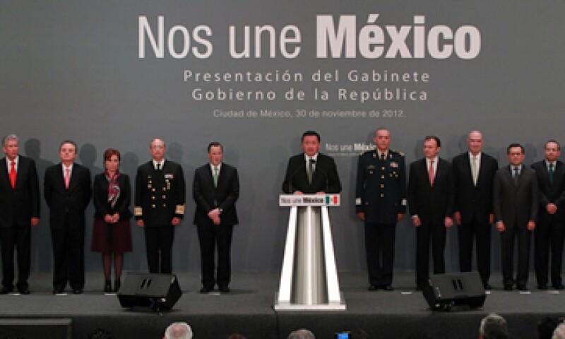 La Asociación de Bancos de México deseó éxito a los colaboradores del presidente Enrique Peña Nieto. (Foto: Notimex)
