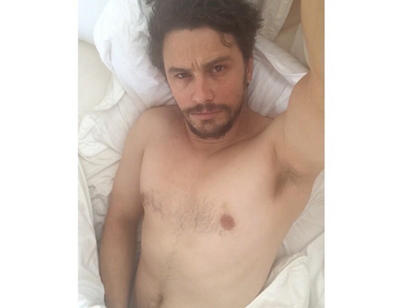 """El 26 de abril, Franco compartió esta otra foto con la leyenda: """"¿Qué pasó? Te estuve esperando""""."""