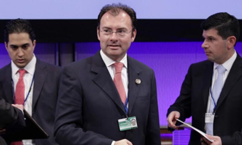 Luis Videgaray participó en las reuniones de primavera del FMI y el BM. (Foto: Reuters)