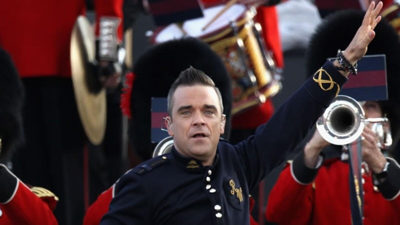 Robbie Williams Londres 2012