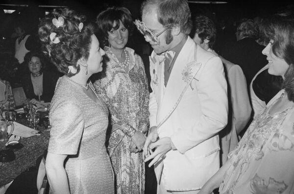 Princesa Margarita y Elton John
