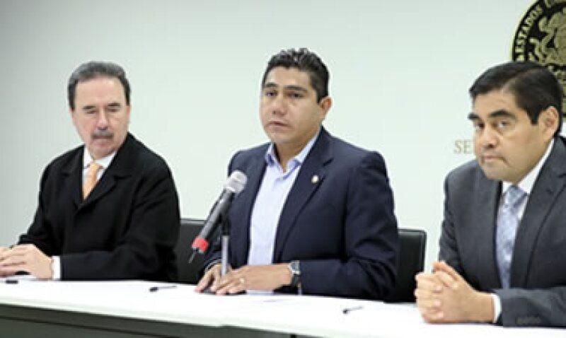 Jorge Luis Preciado (centro) pidió garantía de que la reforma energética no será utilizada con fines políticos.  (Foto: Cuartoscuro)