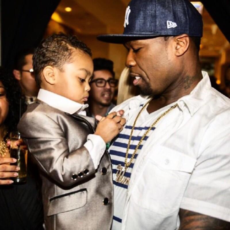 En su Instagram el rapero se derrite en comentarios de amor a su bebé, dejando salir con él su lado tierno.