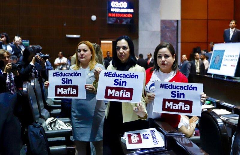Protestas reforma educativa CNTE