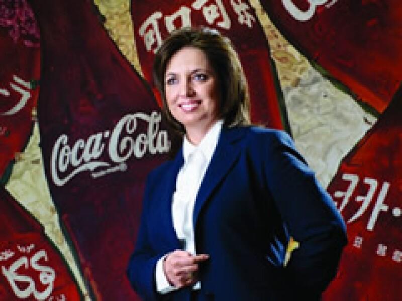 La VP de Planeación Estratégica de Coca-Cola de México. (Foto: Especial)