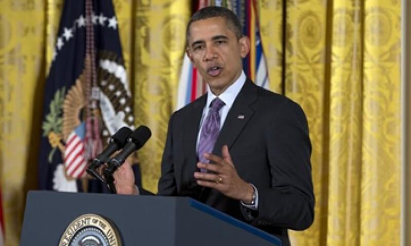 Barack Obama redujo el déficit en su primer mandato pero no completamente como se comprometió a hacerlo: expertos. (Foto: AP)