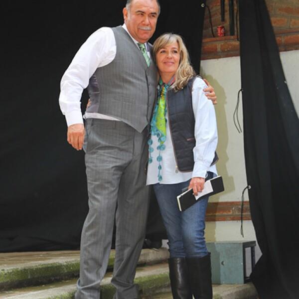 Jesús Ochoa y Mónica Lozano