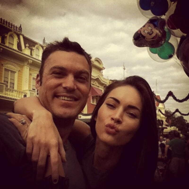 La pareja de actores cumplirá cinco años de casados el próximo año.