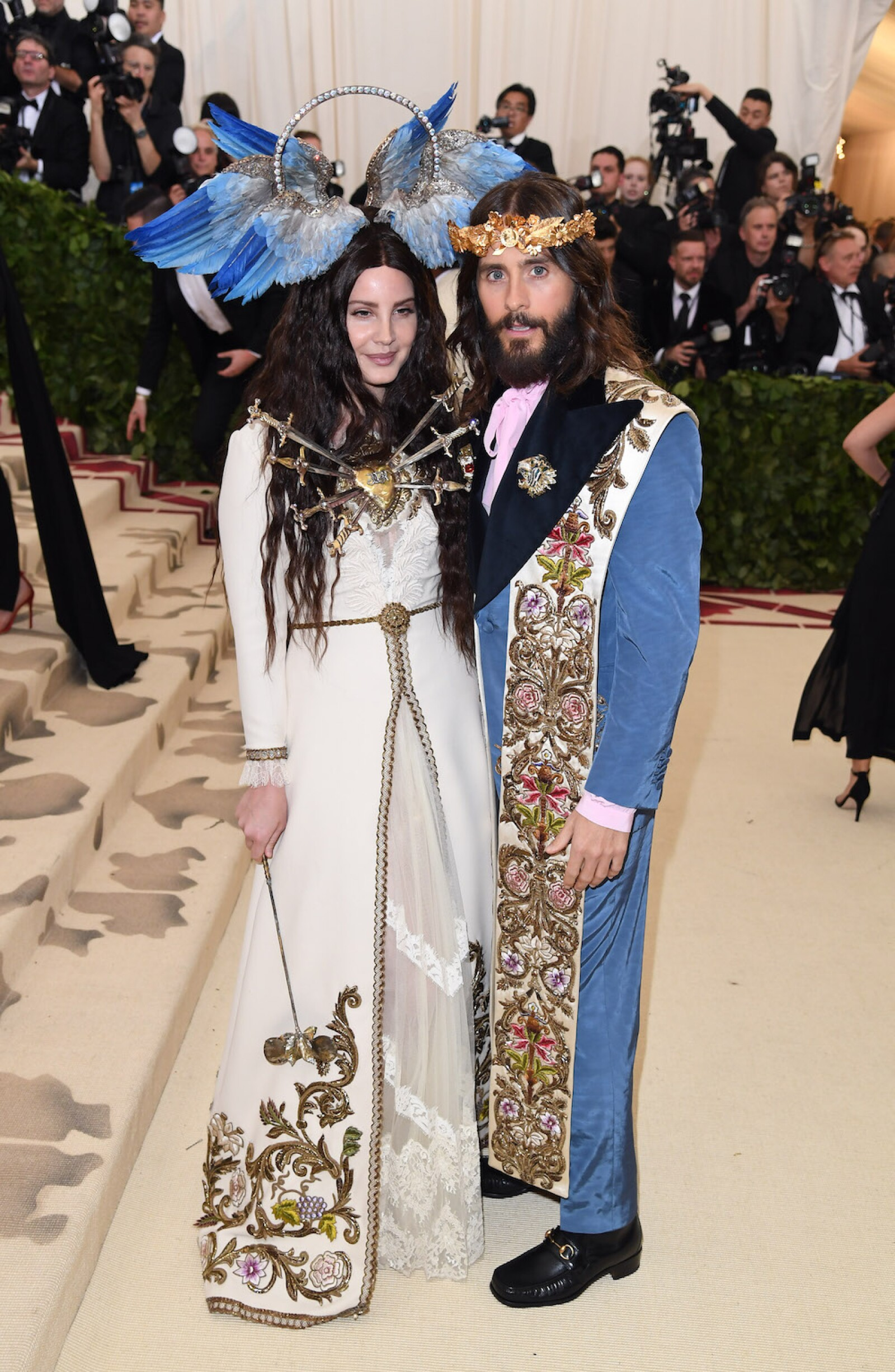 Lana Del Rey, and Jared Leto 2018