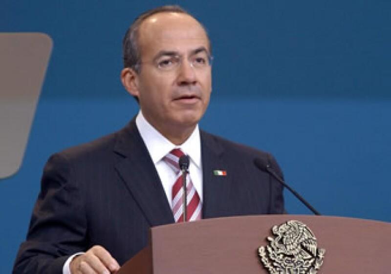 Felipe Calderón defendió las medidas aplicadas por su Gobierno para sortear la crisis económica. (Foto: NTX)