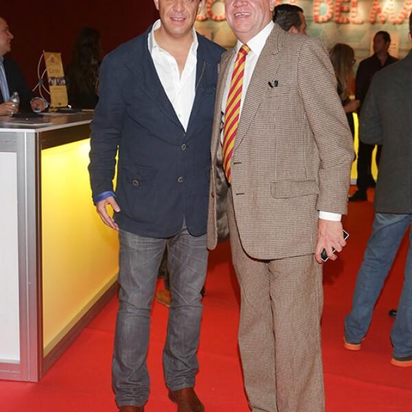 Marco Landucci y Eduardo Solórzano