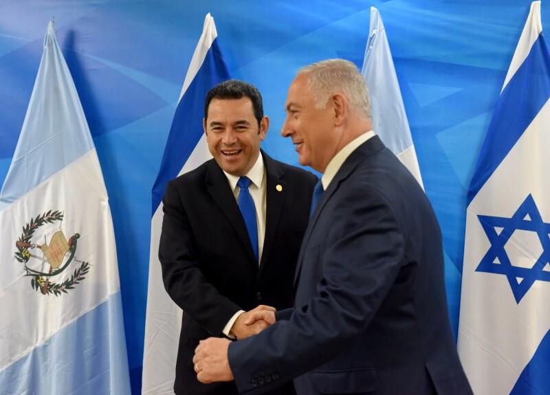 ¿Qué motivó al presidente de Guatemala a trasladar la embajada a Jerusalén?