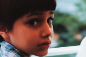 Aquí cuando tenía cinco años.