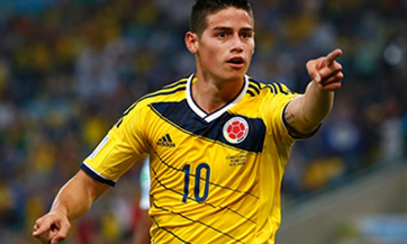 Según datos de Transfer Markt, la transacción de James Rodríguez fue de unos 80 mde. (Foto: Getty Images)