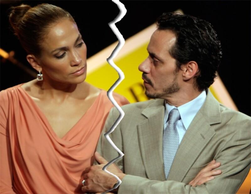 Jennifer y Marc tuvieron una separación muy tranquila, y hasta la fecha sostienen una linda amistad.