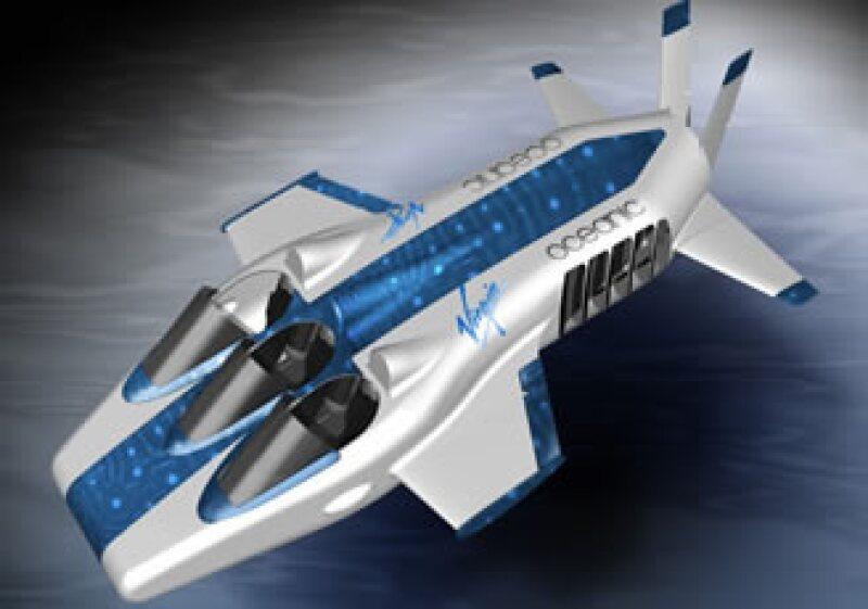 El Necker Nymph alcanzará velocidades de 2 a 5 millas náuticas por hora. (Foto: Cortesía Virgin)