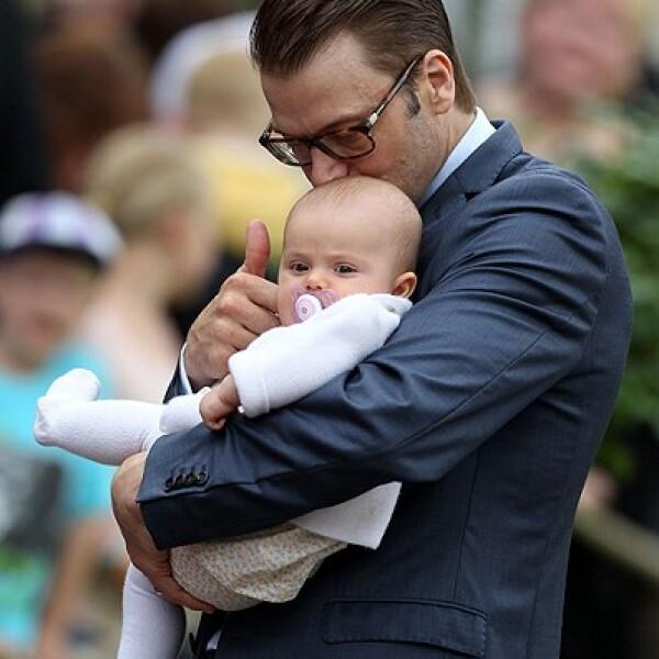 El prínicpe Daniel de Suecia es padre de Estelle, futura Reina de Suecia.