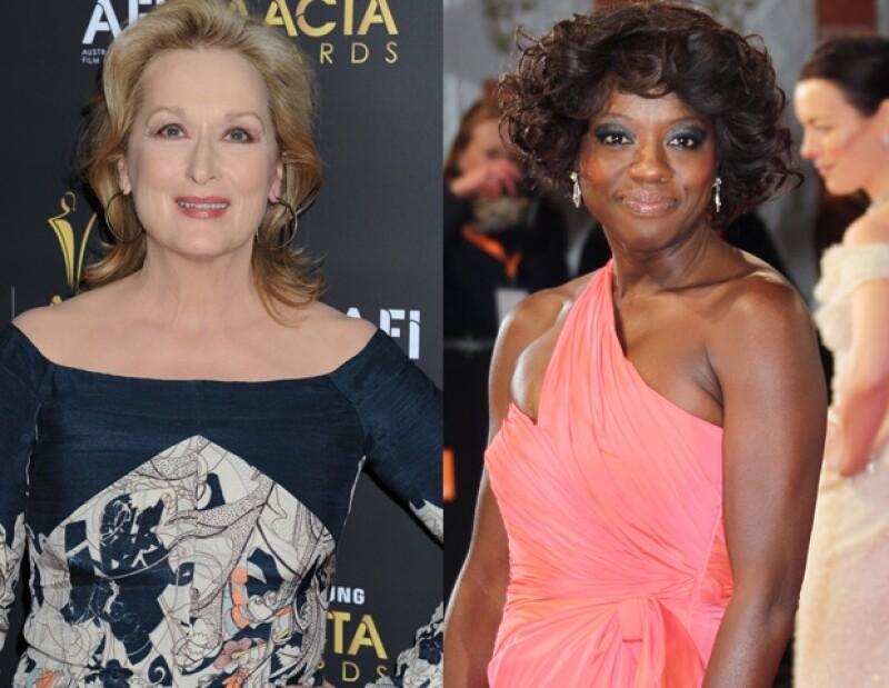 ¿Quién te gusta más Meryl Streep o Viola Davis?