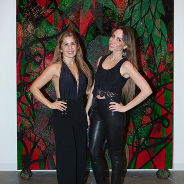 Gabriela Espejo y Mariana Gómez