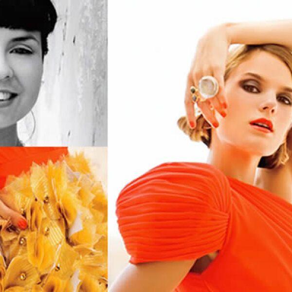 El diseñador Hervé Leroux definió a los diseños de Vianet Covarrubias como impecables en la tercera edición del proyecto Elle México Diseña.