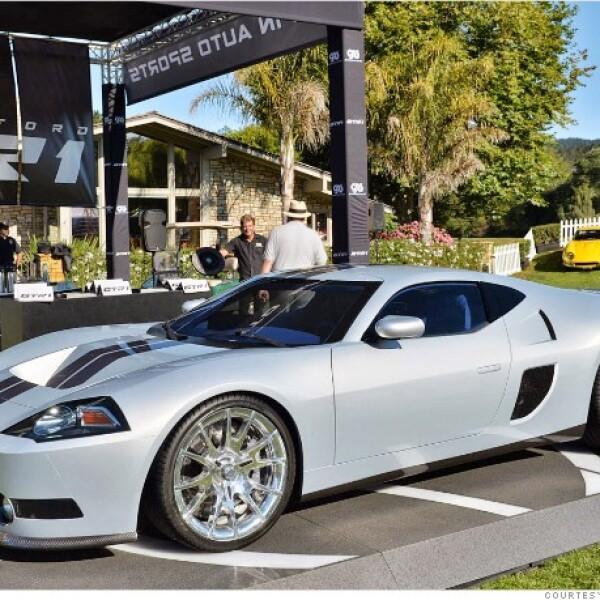 Galpin Ford en Los Ángeles no es el típico distribuidor de autos opera su propia tienda de personalización de coches. El GTR-1 es la idea de Galpin impulsado por un motor V8 de 5.4 litros de 1,024 caballos de fuerza.