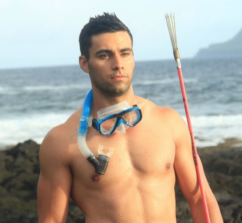 Pita representa a su país, Tonga, en Taekwondo.
