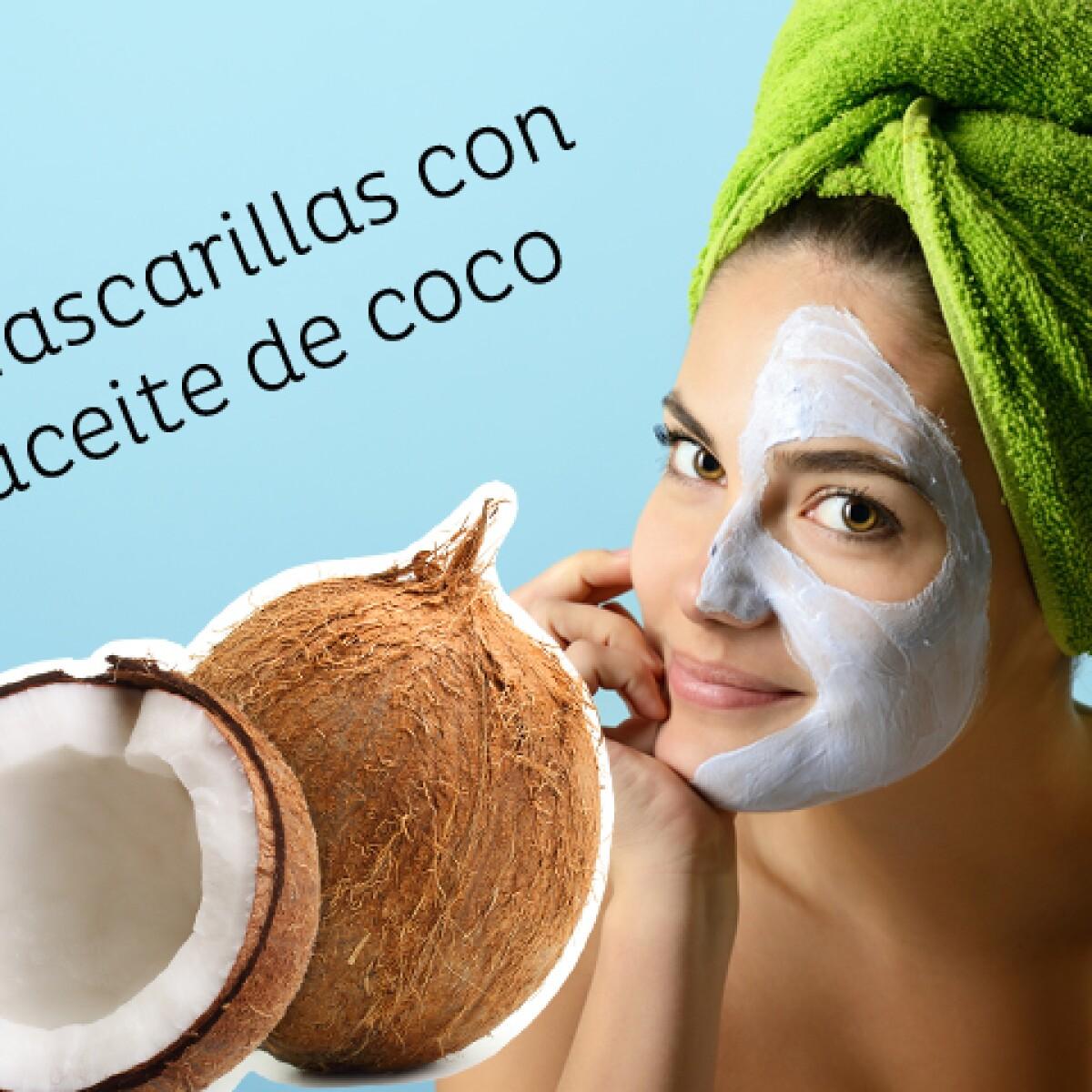 5 mascarillas de coco para la piel