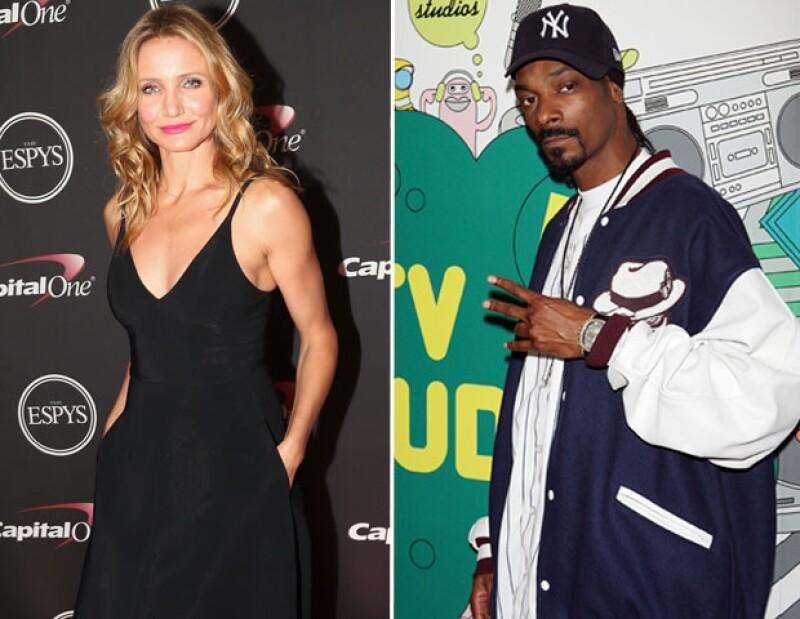 Cameron Díaz reconoce que la imagen de Snoop Dogg era inconfundible en la prepa.