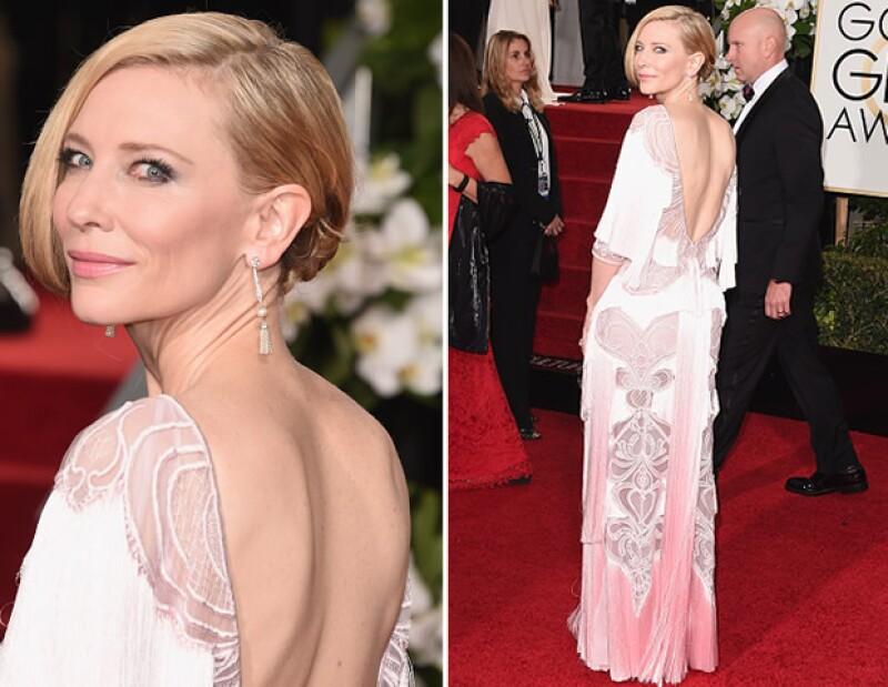 Cate Blanchett no ganó, pero fue de las mejor vestidas.