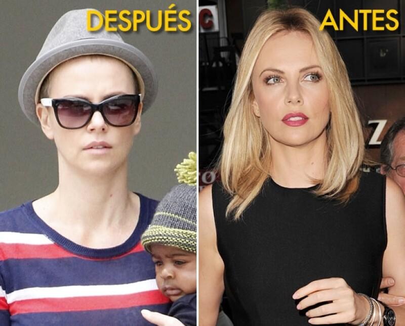 La actriz se hizo un cambio radical en su look desde hace unos días, aunque hasta ahora no se ha dejado ver completamente.